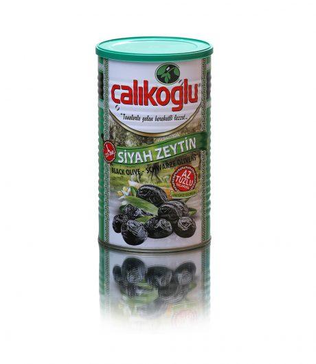 Çalıkoğlu Doğal Az Tuzlu Özel Özel  Siyah Gemlik Zeytin (Yeşil) 800gr