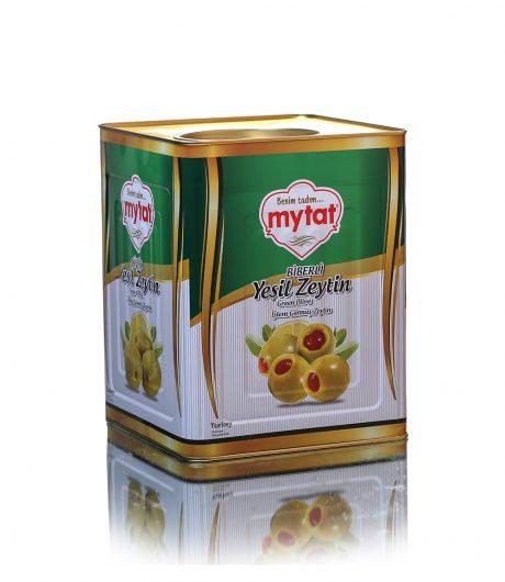 Mytat Biberli Yeşil Zeytin 10kg